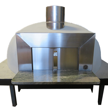 The Forno wood fired stainable Australian pizza oven